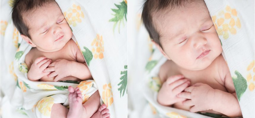 Welcome, Saylor! |Annapolis Newborn Session|